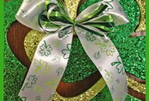 St. Patrick's Day / Inspiration for ribbon printing St. Patrick's Day gifts and crafts