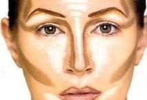 Maquiagem contorno