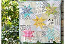 Ideas For Vintage Sheet Quilt / by Sarah Harper