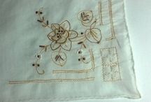 French / Breton Linen / Embroidery