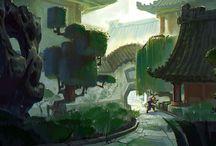 Oriental concept