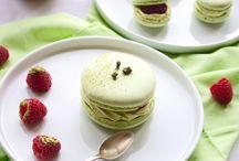 Macarons thé vert matcha