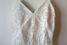Ideas - Crochet Tops