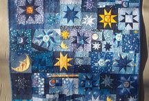 Stars and moon quilts