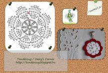 Crochet / Tündérzug nevű blogom saját tervezésű horgolt tárgyai: ékszer (medál), bébicipő. Használjátok nyugodtan, de kérem, hogy osszatok meg forrásként! Köszönöm! This collection contains my own crochet designs: jewellery (pendent), baby shoe. Feel free to use, however, please, respect my work with name me, as your source! Thank you!
