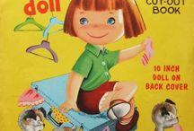 Paper dolls Little Folk