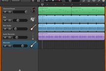 GarageBand info / to sort through all the possibilities and find good info that I can use in the music room for a K-5 setting