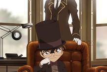 detective conan and kaito kid