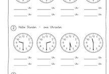 die Uhr der Kalender