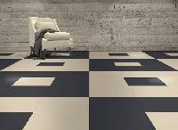 Perfection Floor Tile Leather Look Tiles / Flexible loose lay interlocking tiles. The perfection floor tile has a hidden, virtually water tight interlocking tab system.  Easy to install, loose lay over existing floor, no adhesives needed.
