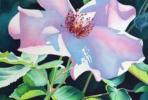 Watercolor Rose 1