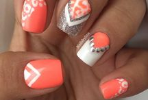Polish and pretty nails / by Shantell Sorensen