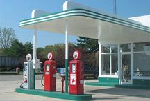 Classic Gas Stations and Pumps / by Steve Boling