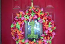 wreaths / by Tasha Lloyd