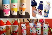 Basteln Weihnachten/Winter