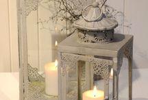 Porta velas y adornos