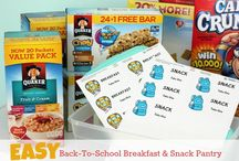 Back To School Organizing Ideas / Get organized before the kids go back to school. Homework stations, school command centers, book bag hangers, and more.