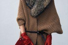 Loose fitting knits. Oversized, big, one sized knits / Style inspiration