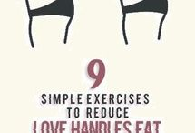 9 Best Exercices for lose handles fat