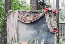 Vintage Wedding Stage