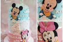 Mickey-Minnie torta