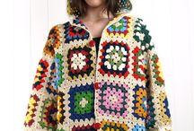 abrigos vintach crochet
