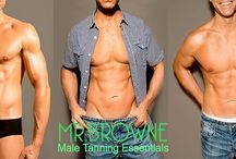 Mr Browne - Male Tanning Essentials / The healthy and fuss free men's (and  for women too) sunless tanning essentials formulated especially for men.