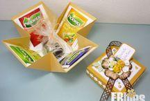 doosjesnieuw bord / vouwen en plakken