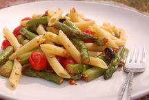 Pastas / Mostly simple Italian pastas.