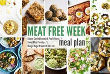 Meat Free Week Planner