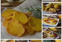 ricette: polenta, gnocchi, patate