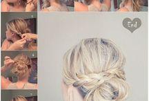 Oppsatt hår