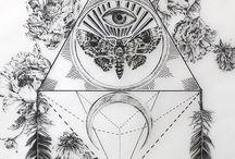 Tatuaże Ćma Motyl