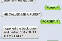 If dogs and cats could Text lol