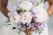 Amethyst and White Wedding