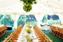 Wedding: Simple Reception Decor
