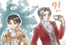 Attack on Titan / Shingeki no Kyojin x Ace Attorney