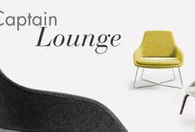 CAPTAIN FAMILY / La famiglia Captain, disegnata da Baldanzi&Novelli, si arricchisce di una seduta lounge. Captain Lounge è una poltrona leggera e sinuosa, dalla silhouette ampia e riposante. #CaptainLounge #Sinetica #chair #officechair #seating #design #designchair #Baldanzi&Novelli #designer http://www.sineticaindustries.com/index.php?id=62