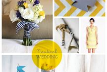 Nautical Wedding Ideas / Here is some fabulous, beautiful, crazy and get value for money wedding ideas (even worthy onboard a boat)