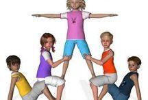 Gymnastique acrobatique cycle 2 ou 3