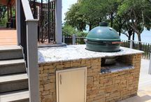 Big green egg/outdoor kitchens