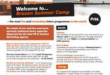 Brazen Summer Camp / The best PR internship. Ever.