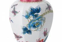 Vázy / Vázy anglických značek Wedgwood, Spode a italské Richard Ginori