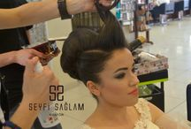 Bride Hair and Makeup / Gelin