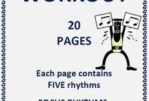Music Classroom - Rhythm / Everything that I find about teaching rhythm