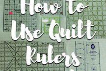 Quilting Tools and Tutorials