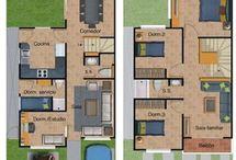 planos de casa campestre