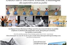The public are welcome! / Le Régent College will open its dance classes to the public as of September 2016 - Come and train with us!