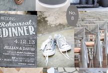 Colour Board - Grey Wedding Inspiration