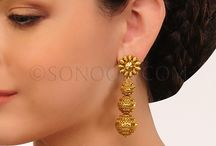 Earrings / Indian Earrings, Indian Bridal Earrings, Indian Earring Designs